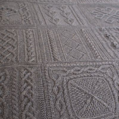 ARAN AFGHAN FREE PATTERN   FREE Knitting PATTERNS